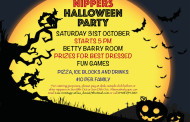 Nippers Halloween Party on Saturday 31st Oct