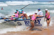 Dee Why wins open surf boat event at Bilgola