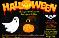 Halloween Party / Welcome Night - Sat 27th Oct